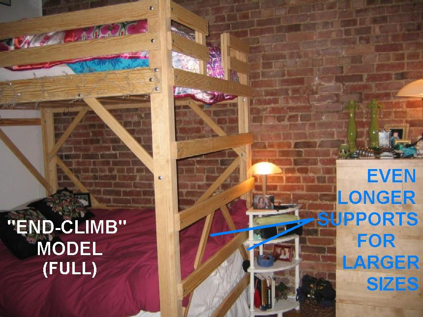 college dorm bunk bed plans
